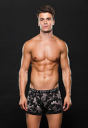 Logo Elastic Boxer Brief L/xl Gray Camo