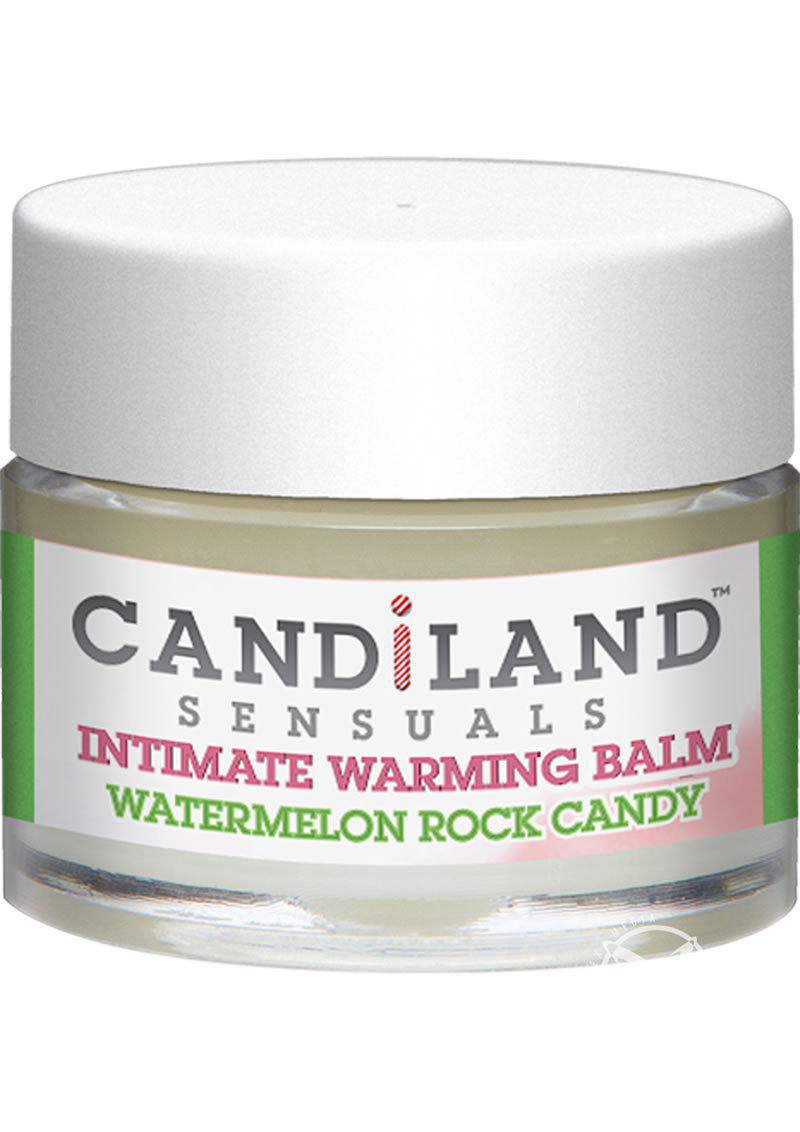 Candiland Sensuals Intimate Warming Balm Watermelon .25 Ounce